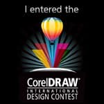 I entered the CorelDRAW International Design Contest