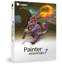 Painter Essentials 7 (Windows/Mac), Malprogramm f�r Einsteiger