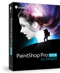RAW Bildbearbeitungsprogramm PaintShop Pro 2018 Ultimate