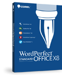 >WordPerfect Office X8