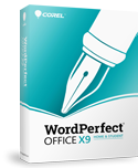 WordPerfect Office X9 - Home & Student Edition