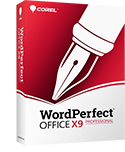 WordPerfect Office X9