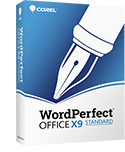 WordPerfect X9