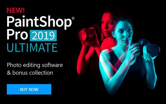PaintShop Pro 2019 Ultimate Photo Editor Software