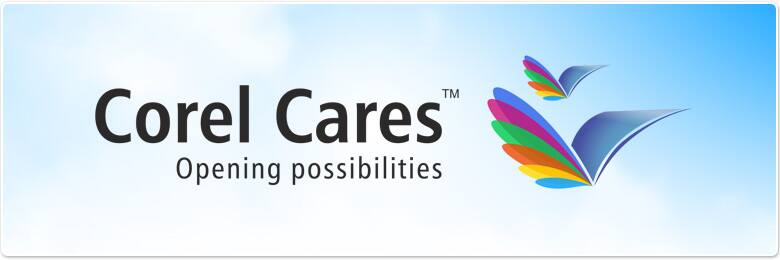 Corel Cares, opening possibilities