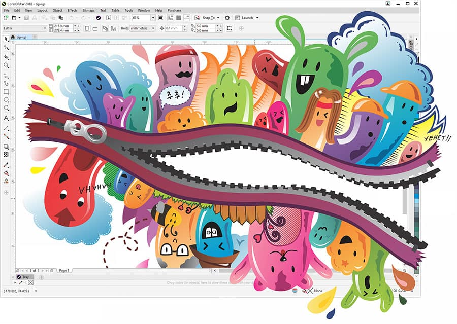 graphic design software � coreldraw graphics suite 2018