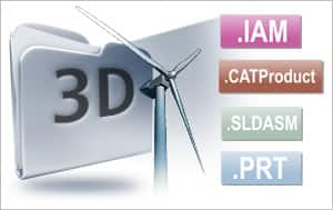 Add native 3D CAD support and advanced 3D authoring capabilities with XVL Studio 3D CAD