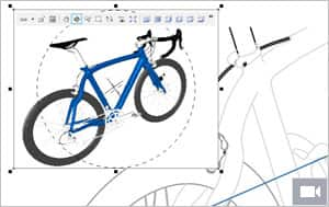 New Insert 3D functionality embeds 3D models in illustrations
