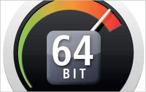 Native 64-bit application support
