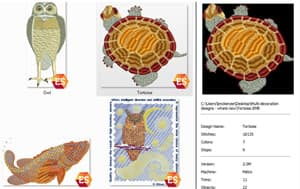 Large embroidery TrueView thumbnails in Windows Explorer
