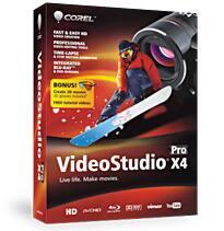 VideoStudio Pro X4
