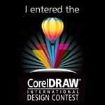 I entered the CorelDRAW International Design Contest