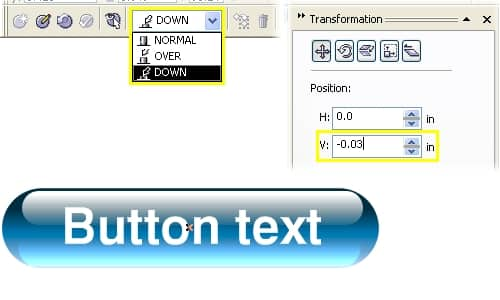 Blogdesign Create Glassy Rollover Buttons In Coreldraw The r,g,b values are given in the range of 0.255. blogdesign create glassy rollover buttons in coreldraw