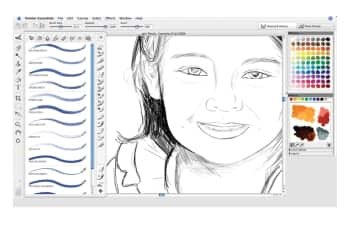how to make a drawing smaller in corel painter essentials