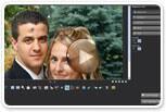Express photo editing tools