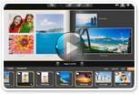 Creating photo books and slideshows