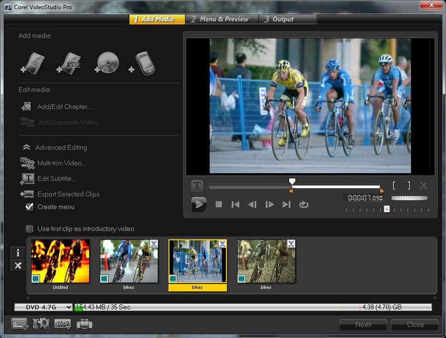 Corel VideoStudio Pro X6 screenshot