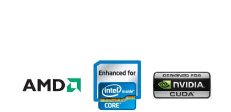 Intel, AMD, NVIDIA
