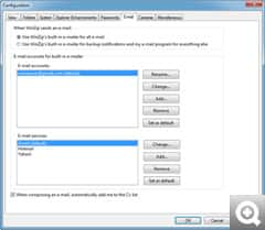 WinZip 15 webmail support