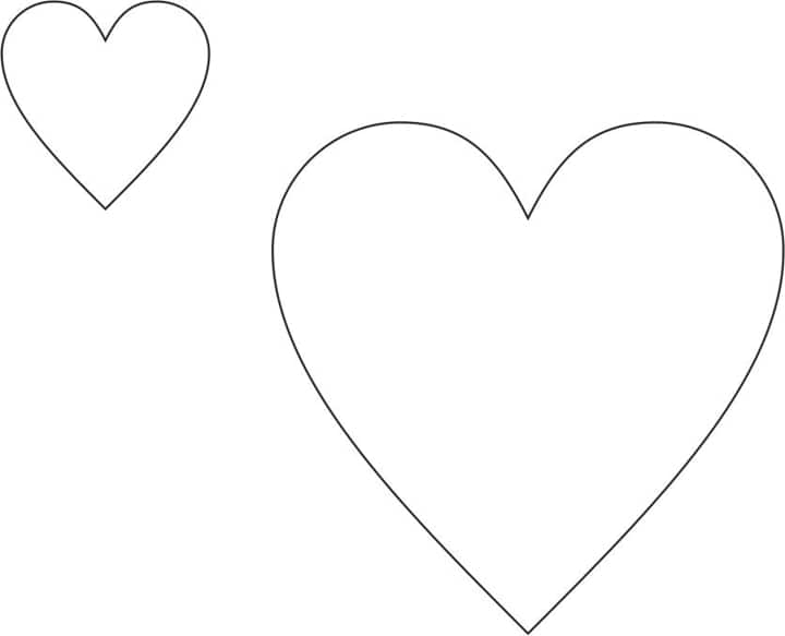 Perfect Heart Drawing Now, we have our basic heart