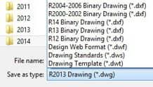 레거시 파일 포맷 지원