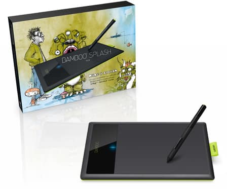 brand new bundle of corel painter lite software and wacom bamboo splash tablet ebay. Black Bedroom Furniture Sets. Home Design Ideas